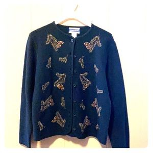 Wool Pendleton Button Down Sweater Size Small